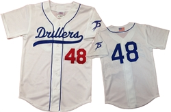 Teamwork Tidewater Drillers Full Button Jersey