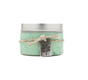 Small Tin Growth Soy Candle Rosemary Tea Tree
