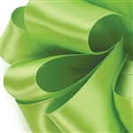 Offray Single Face Satin Ribbon - 547 New Chartreuse