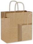 Assorted Sizes Kraft Paper Shopping Bags