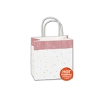 Rose Dots paper shopping bags