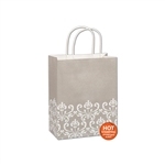 Champagne Chic Cub paper shopping bags