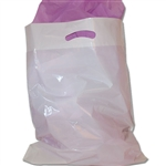 "16"" x 18"" x 4"" Value Color White Plastic Bags"