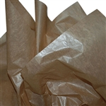 "Dry Waxed Kraft Tissue Paper - 18 x 24"" - 480 Sheets per Ream"