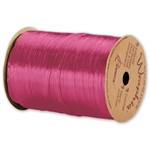 Wraphia Ribbon Pearlized Hot Pink