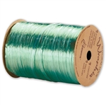 Wraphia Ribbon Pearlized Emerald