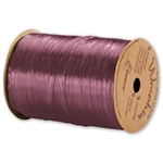 Wraphia Ribbon Pearlized Wine