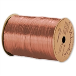 Wraphia Ribbon Pearlized Terra Cotta