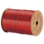 Wraphia Ribbon Pearlized Red
