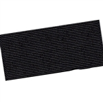 Wide Hair Bow Grosgrain Ribbon - Black