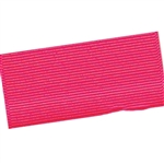 Wide Hair Bow Grosgrain Ribbon - Shocking Pink