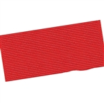 Wide Hair Bow Grosgrain Ribbon - Red