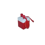 Small Eco Pop Boxes, Red