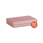 "Rose Gold Jewellery Boxes - 5-7/16"" x 3-1/2"" x 1"""