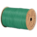 Wraphia Ribbon Matte Emerald