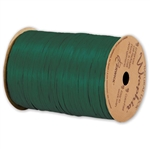 Wraphia Ribbon Matte Hunter Green