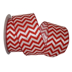 Wired Red Chevron Ribbon