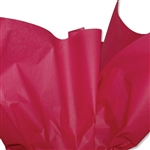 Cranberry  Coloured Tissue Paper