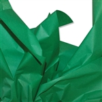 Dark Green Coloured Tissue Paper