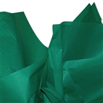 Emerald Green Coloured Tissue Paper