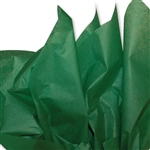 Festive Green Coloured Tissue Paper