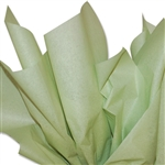 Jade Green Coloured Tissue Paper