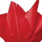 Red Coloured Tissue Paper