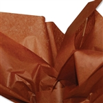 Raw Sienna Coloured Tissue Paper