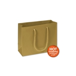 Matte Laminated Gold Small Bags