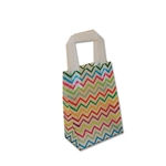 Frosted Petite Reusable ZIg Zag Bags
