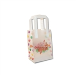 Frosted Petite Reusable Gingerbread House Bags