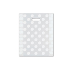 Frosted Merchandise Dots Bags 12 x 15