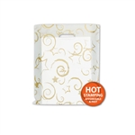 Frosted Merchandise Stars Bags 12 x 15