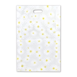 "Frosted Merchandise Daisy Bags 14"" x 3"" x 21"""