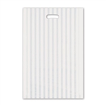"Frosted Merchandise Stripes Bags 14"" x 3"" x 21"""