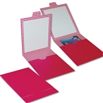 Fuchsia Gift Card Bill Folders