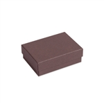 "Brown Kraft Jewellery Boxes - 3"" x 2-1/8"" x 1"""