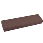 "Brown Kraft Jewellery Boxes - 8"" x 2"" x 7/8"""