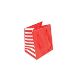 Side Stripe Manhattan Bags-Mini Big Apple Red