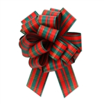 Holiday Tartan Plaid Pull Bows