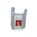Christmas Small Plastic T-Shirt Bags S1