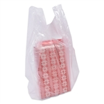 Frosted Clear Small Plastic T-Shirt Bags S3