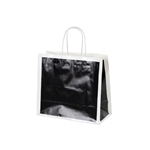 San Francisco Shopping Bags-Medium-Alcatraz Black