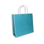 San Francisco Shopping Bags-Medium-Turquoise