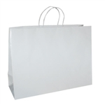 San Francisco Shopping Bags-Large Wiki White