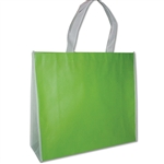 "Non-Woven San Francisco Bags - 16"" x 14"" x 6"" - Lime 100 Bags/Case"