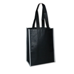 "Non-Woven San Francisco Bags - 9"" x 12"" x 5"" - Black 100 Bags/Case"