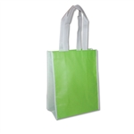 "Non-Woven San Francisco Bags - 9"" x 12"" x 5"" - Lime 100 Bags/Case"