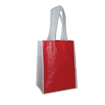 "Non-Woven San Francisco Bags - 9"" x 12"" x 5"" - Red 100 Bags/Case"