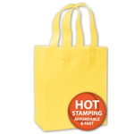 Frosted Petite Yellow Bags